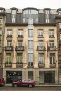 Bâtiment Bruxelles Formation tremplin jeunes