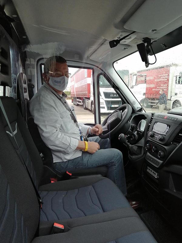 Chauffeur à BF logistique